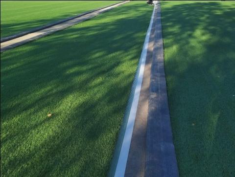 укладка искусственной травы на стадионах и спортивных полях в Санкт-Петербурге